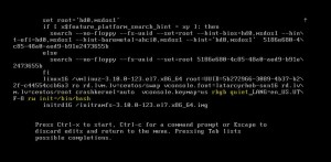 Centos 7 password reset